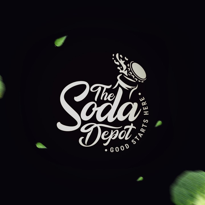 Logo and print designs done for a soda depot