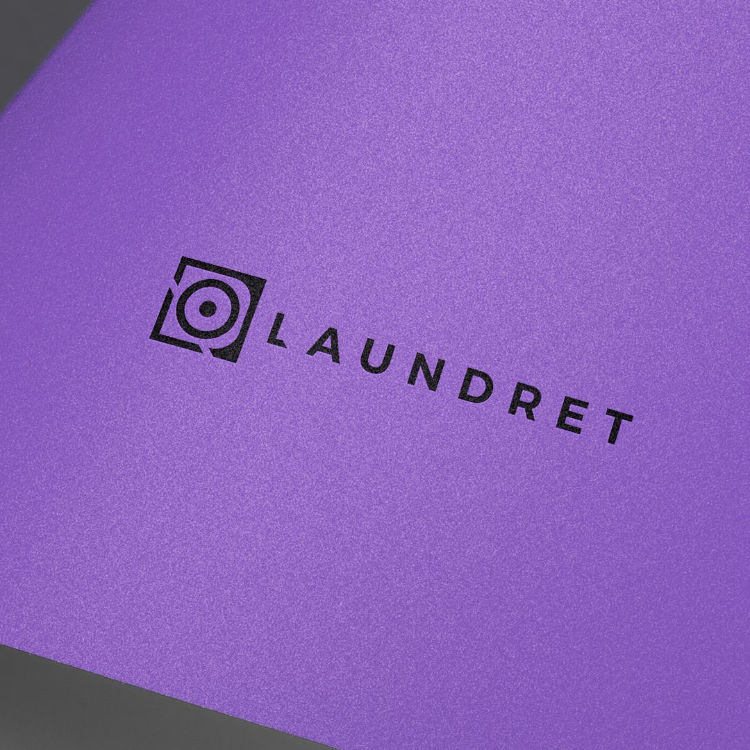 Identity branding done for a laundry delivery service
