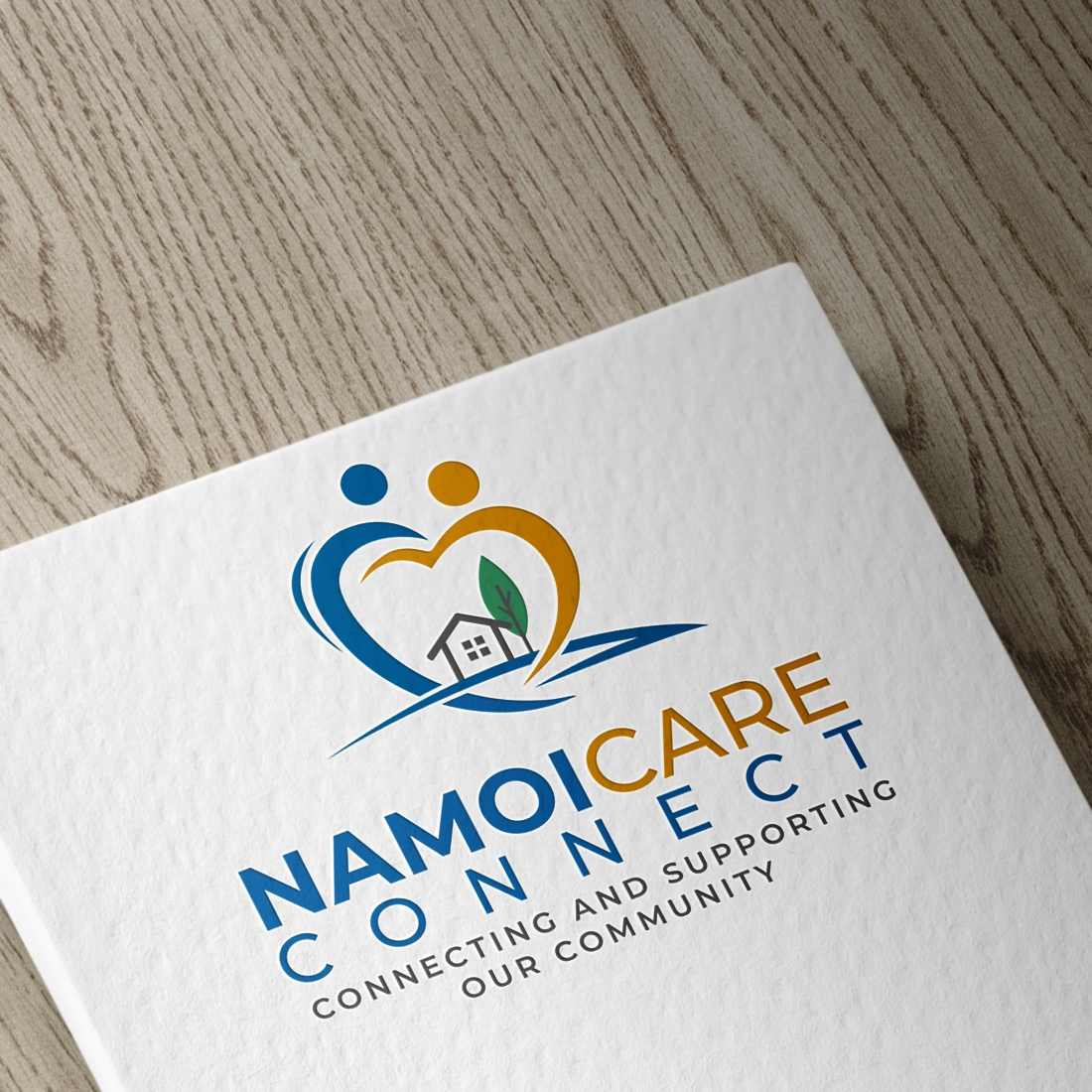 Logo design done for a community support center
