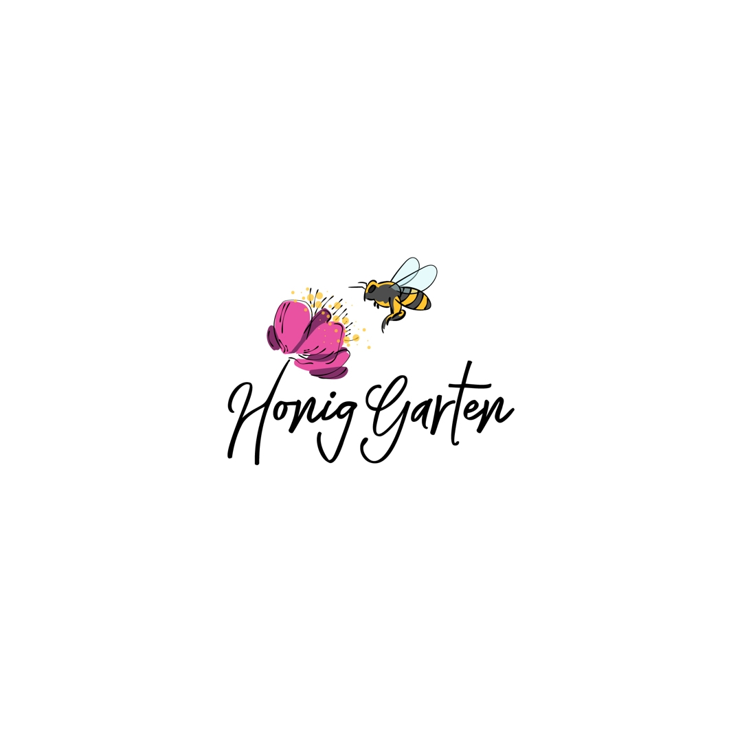 Logo design done for a beekeeping business