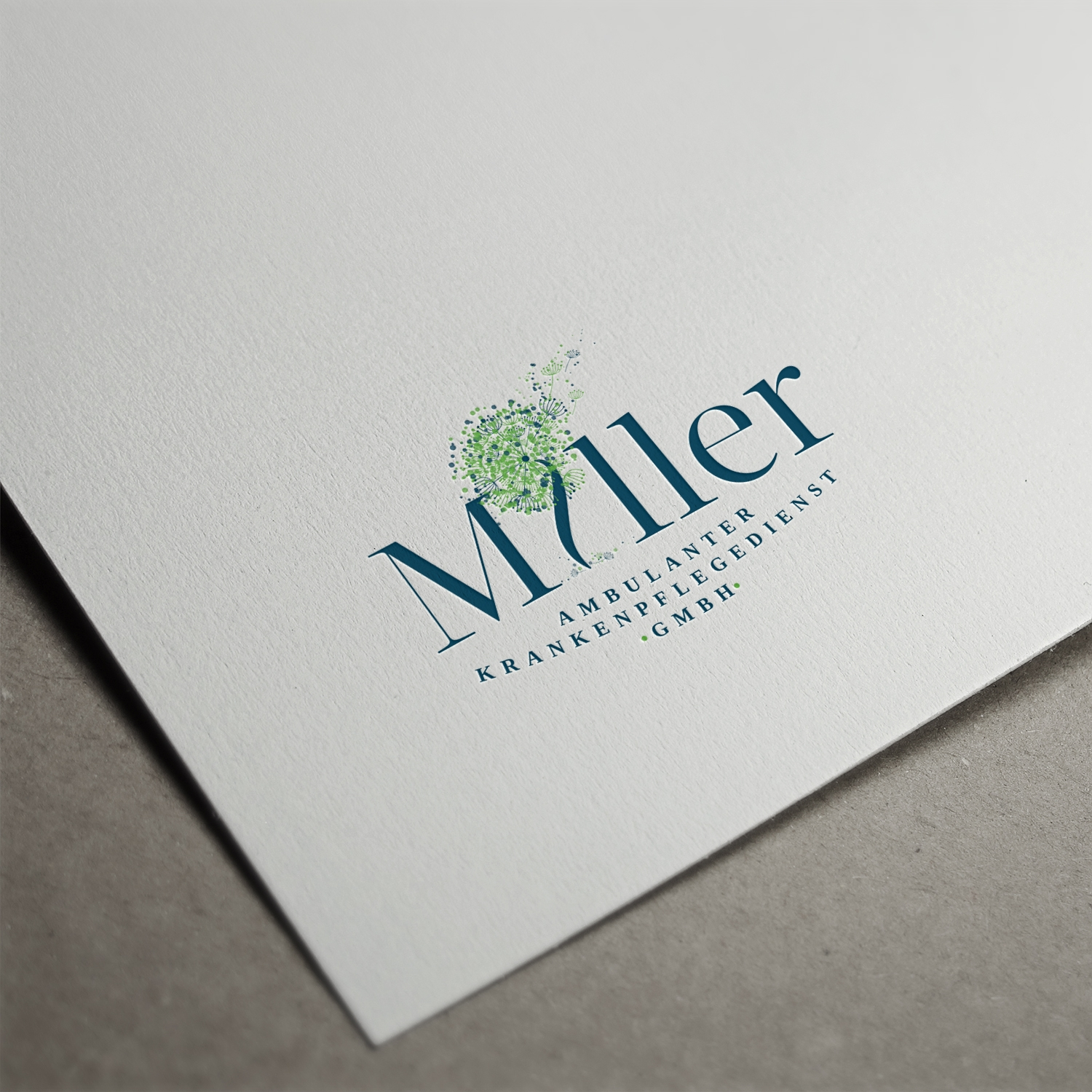 Logo and Stationery designs done for an outpatient nursing service