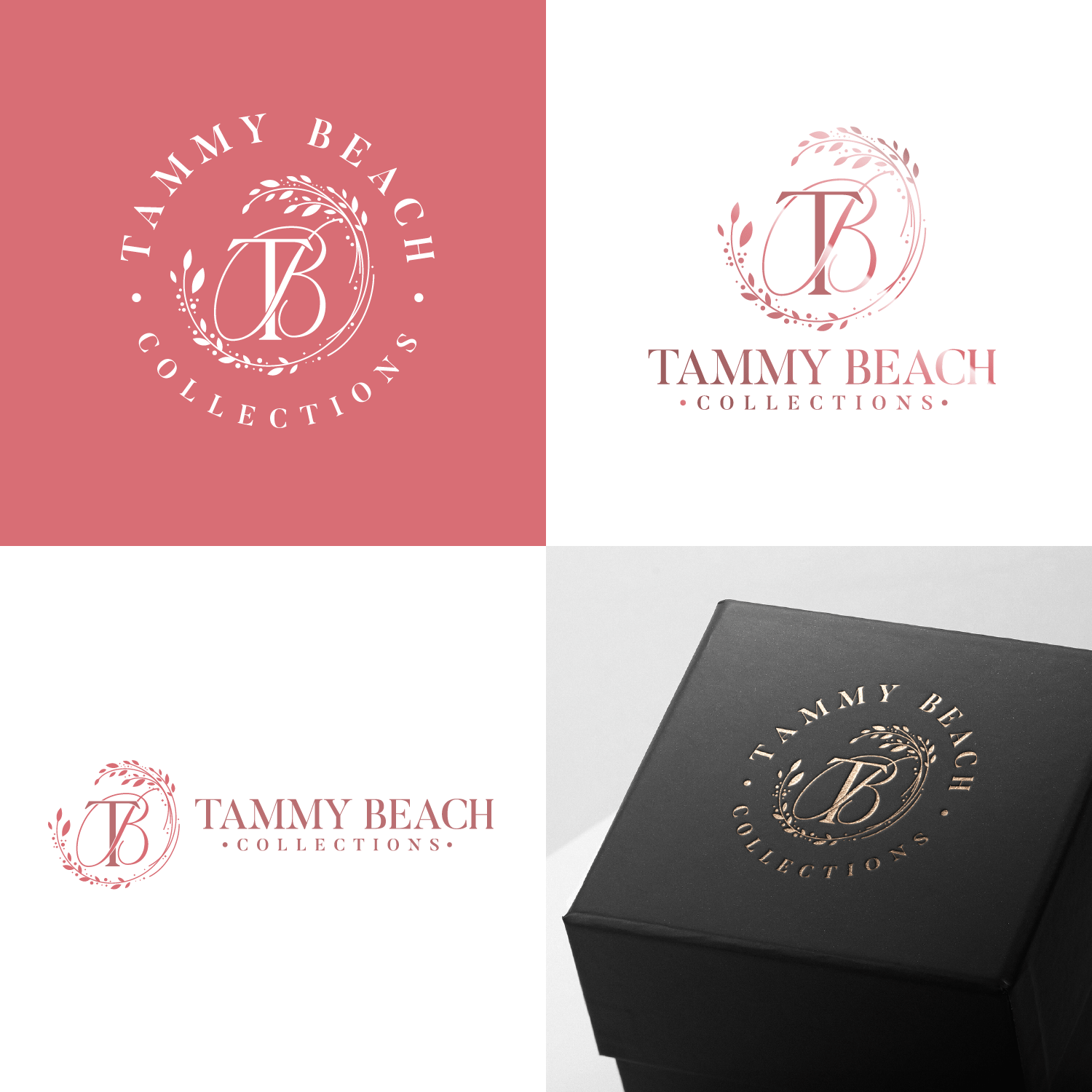 Logo design done for a luxury jewelry collection store